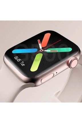 Shotex Iphone 11 Cep Telefonu Uyumlu Rose Gold Akıllı Saat Smart Dijital Watch 0