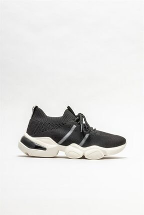 Elle Siyah Kadın Spor Ayakkabı 0