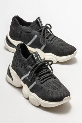Elle Siyah Kadın Spor Ayakkabı 1