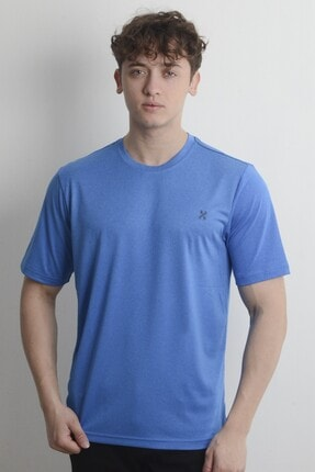 تصویر از Erkek Mavi T-shirt