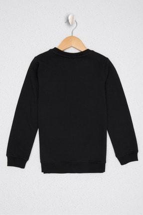 US Polo Assn Siyah Erkek Çocuk Sweatshirt 1