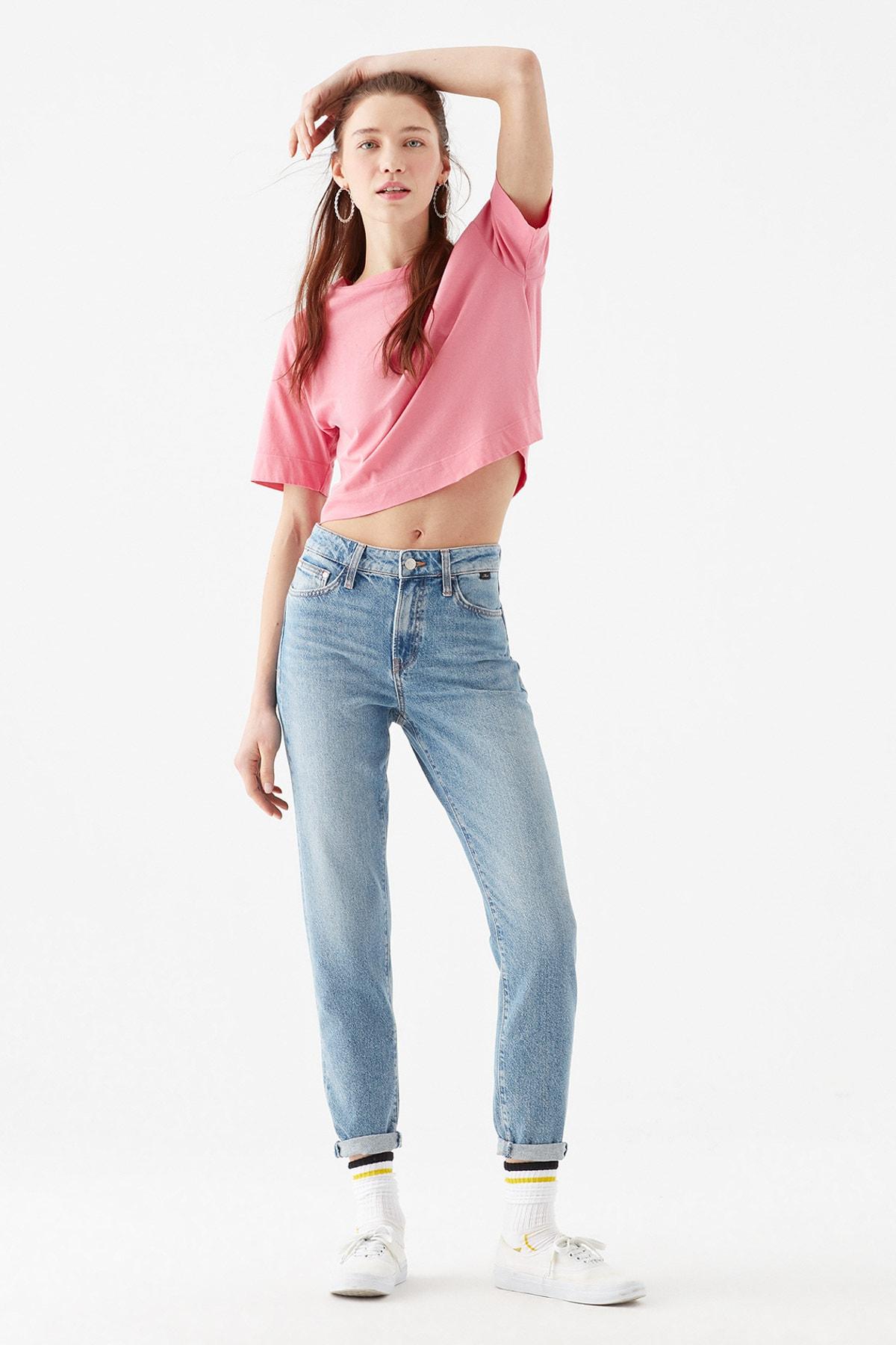 Cindy All Blue Jean Pantolon