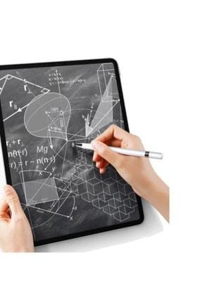 Fibaks Dokunmatik Kalem Tüm Cihazlara Uyumlu Tablet Telefon Için Çizim & Yazı Kalemi 2 In 1 Disk Uçlu 2