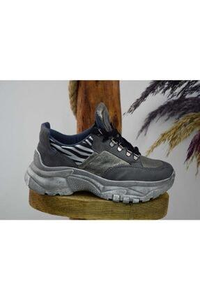 Kadın Gri Spor Ayakkabı Mc14-432 YU4379a7-47177