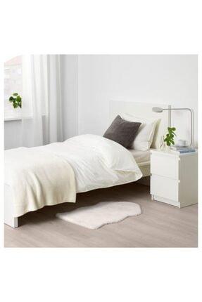 IKEA Yumuşak Dekoratif Halı 55x85 Cm Beyaz 2