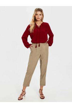 LC Waikiki Kadın Bordo  Bluz 2