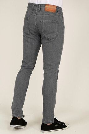 Terapi Men Erkek Gri Slim Fit Kot Pantolon 21k-2100482-1 1