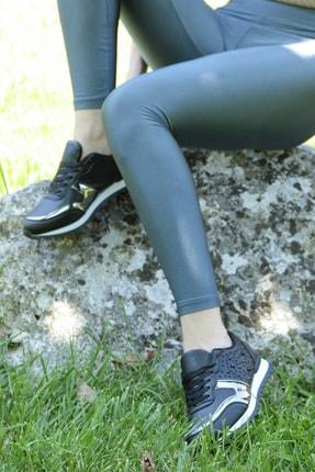Crash Kadın Siyah Sneaker 140056 4