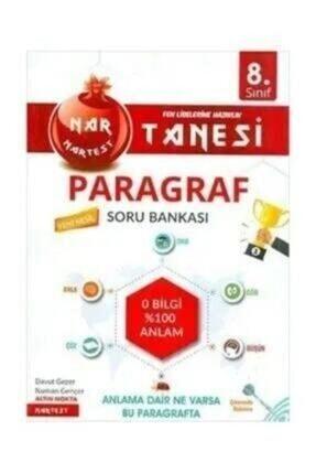 Nartest Yayınları 8.Sınıf Nar Tanesi Paragraf Soru Bankası 0