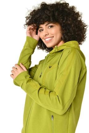 bilcee Kadın Yeşil Eşofman Takımı Hs-8793 3