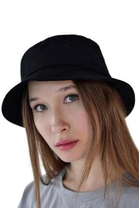 Orçun Özkarlıklı Siyah Bucket Balikçı Şapka 1