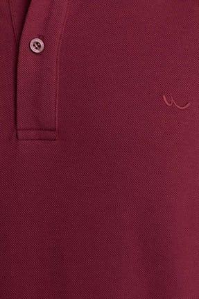 Ltb Erkek  Bordo Polo Yaka T-Shirt 012198450860890000 2