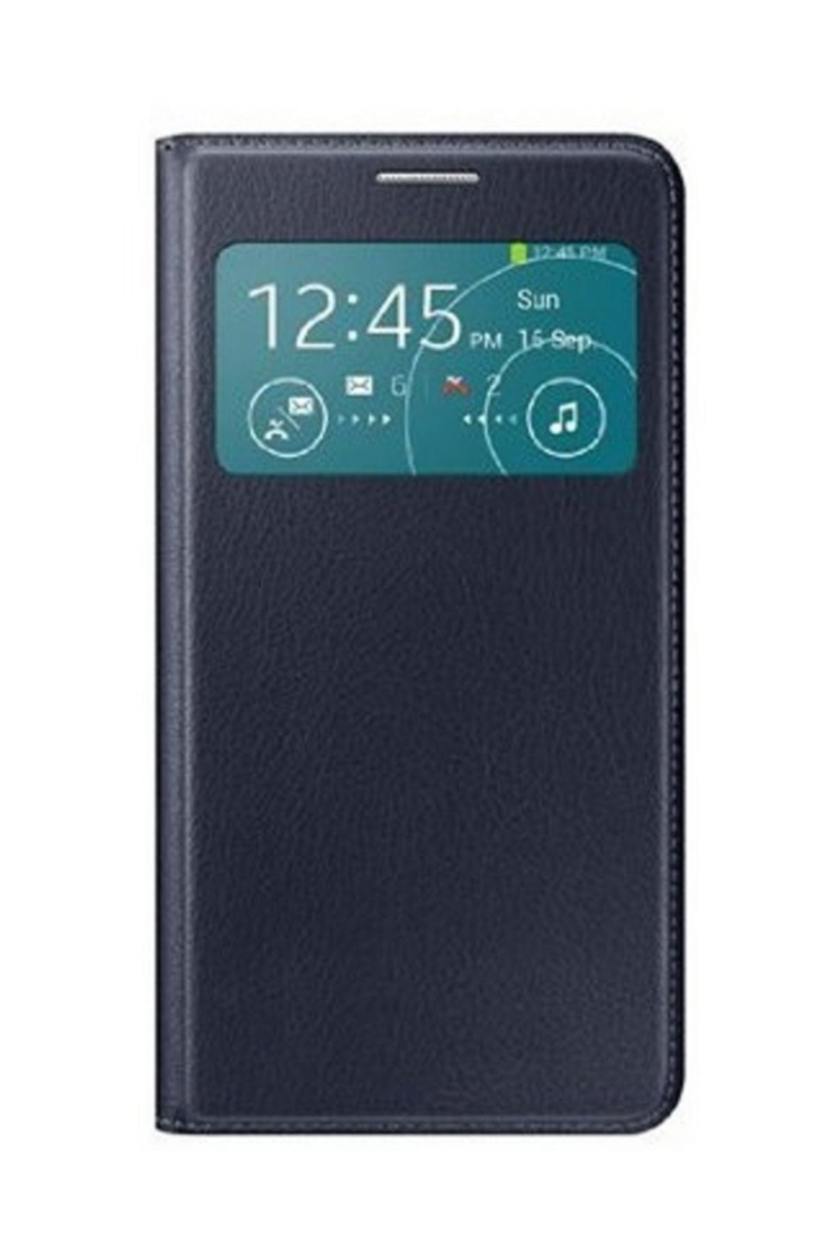 Samsung Galaxy S3 Neo (I9301) S View Orjinal Kılıf Mavi