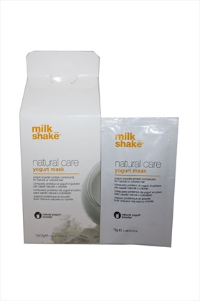Milkshake Kuru ve Nemsiz Saçlar için Nemlendirici Bakım Maskesi 12 x 15 g 8032274056836 0