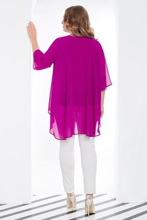 Büyük Moda Kadın Ekru Dar Paça Likralı Pantolon 2149 2