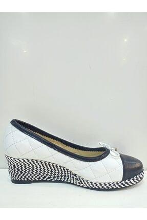 Dolgu Topuklu Ayakkabı 100sb01
