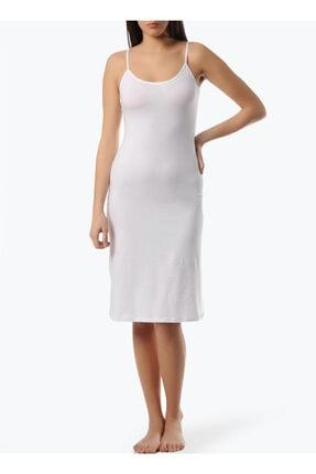 Freshness Kadın Modal Beyaz Askılı Jüpon Kombinezon Kshop.11129