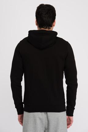 New Balance Erkek Sweatshirt-  V-MTJ805-BK 1