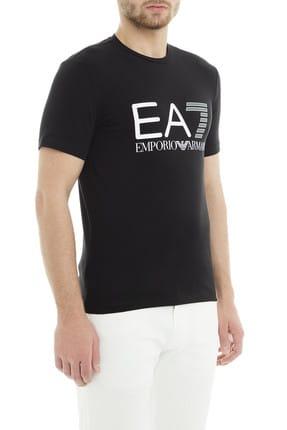 EA7 Erkek Siyah  T-Shirt 3