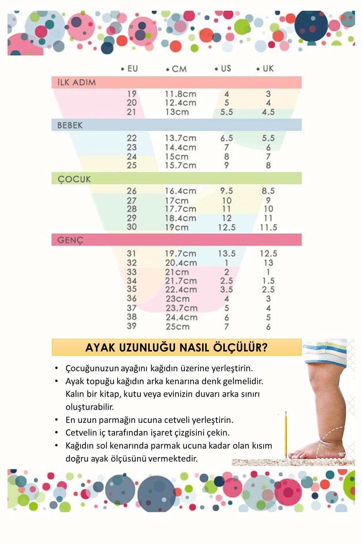 Vicco Active Unisex Çocuk Beyaz Spor Ayakkabı 1