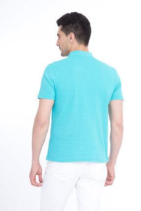Kiğılı Erkek Mavi Polo Yaka T-Shirt - Cdee1-3 1