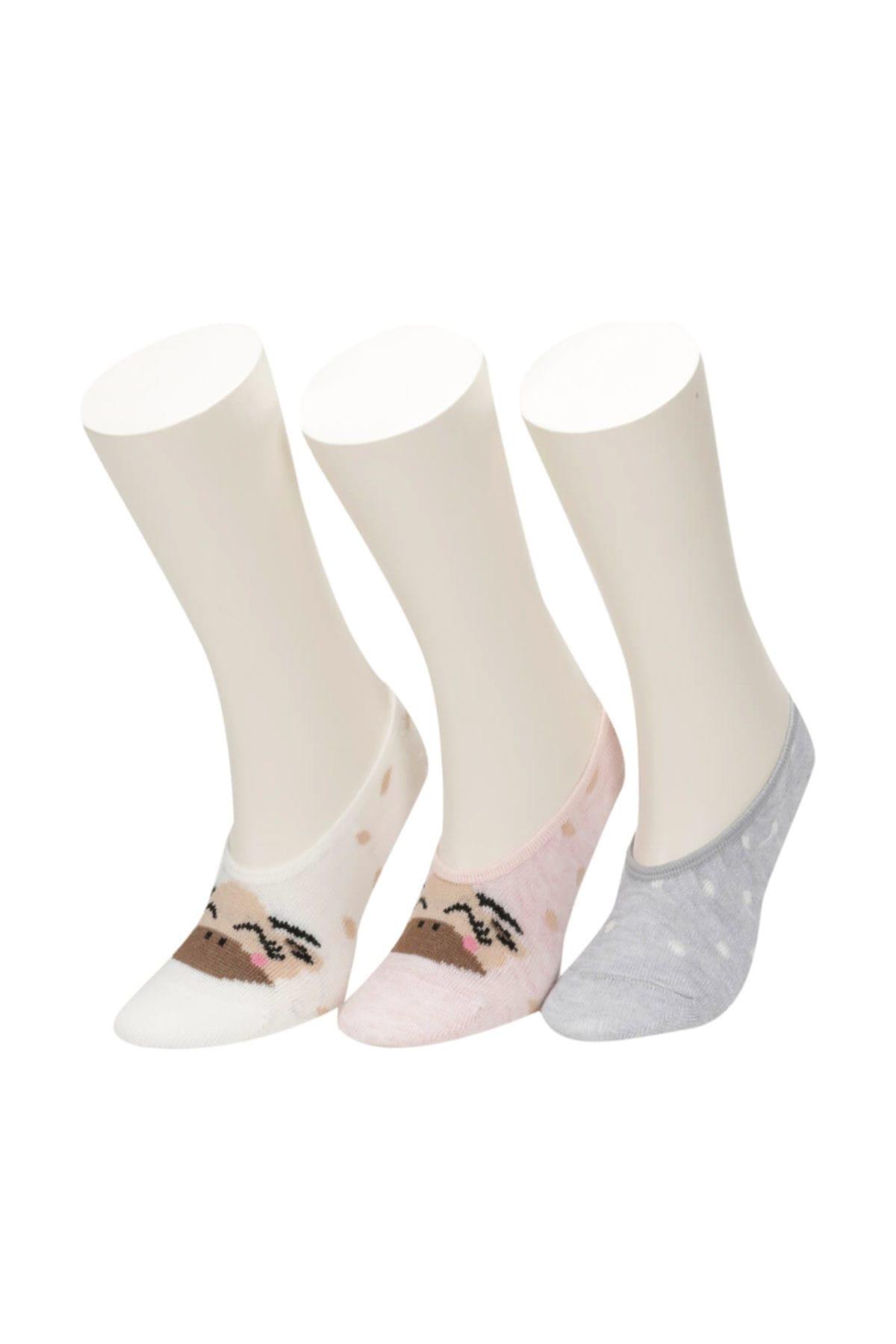 ZÜRAFA 3 LU SUBA-G SALEP Kız Çocuk Çorap 100398087