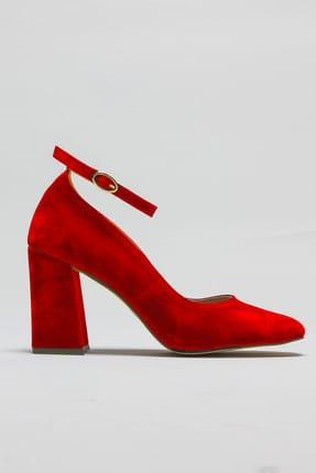 Rovigo Kırmızı Kadın Topuklu Ayakkabı 11112014189-2-03 2