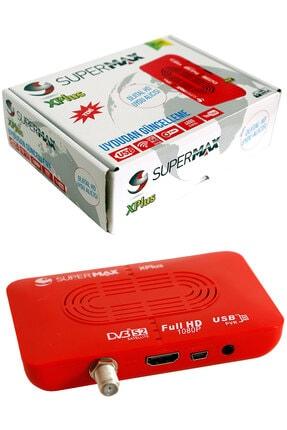 SÜPERMAX X Plus Mini Hd Uydu Alıcısı 2 Kumanda Full Hd  Xtream Kurulumu Hazır 3