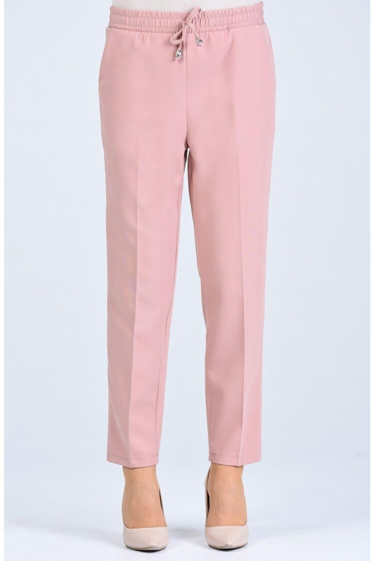 Kadın Lastikli Havuç Pantolon - Me000273