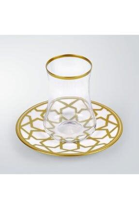 Koleksiyon Ev ve Mobilya 6lı Dervish Çay Seti Yıldız 2