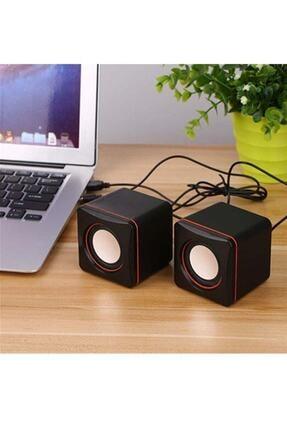 Wonderlust Multimedya 1+1 Mini Pc Hoparlör 2.0 Usb Speaker 2.5w 1