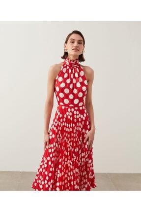 İpekyol Puantiye Desen Elbise 0