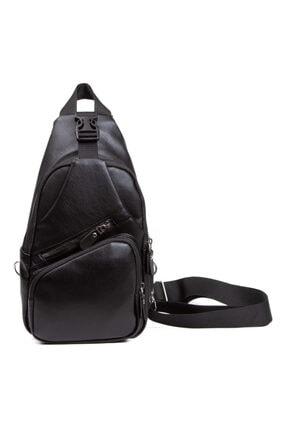 Leyl Yıkama Deri Göğüs Çantası Kulaklık Ve Şarj Çıkışlı Tek Kol Çarpraz Bodybag Mini Sırt Çanta 1