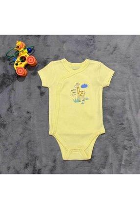 PİEROSBABY Pieros Baby 0014 Erkek Bebek Kısa Kol 2 'li Badi 1