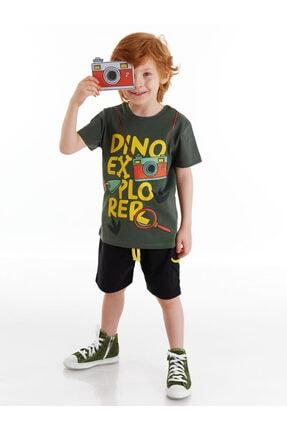 Picture of Dino Explorer Erkek Çocuk Şort Takım
