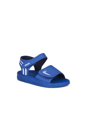 Vicco Dory Erkek Bebe Saks Mavi Sandalet 0