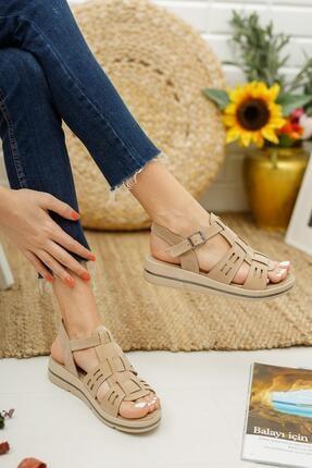 Muggo Mglily07 Kadın Günlük Sandalet 2