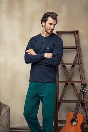 Erkek Pijama Takım 6127-lacivert PAT6127-LACİVERT