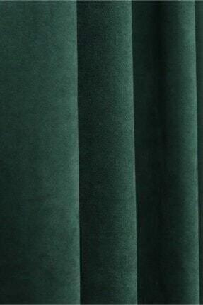 home color  home Petek Kadife Dokulu Fon Perde 150x270 Düz Dikişli Ekstrafor Büzgü 1