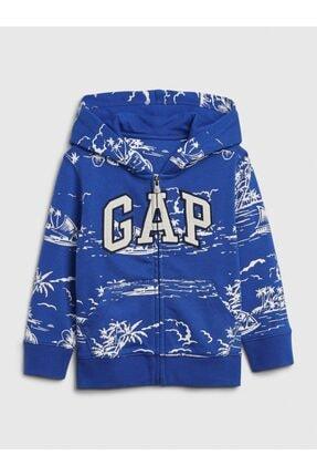 GAP Logo Kapüşonlu Sweatshirt 0