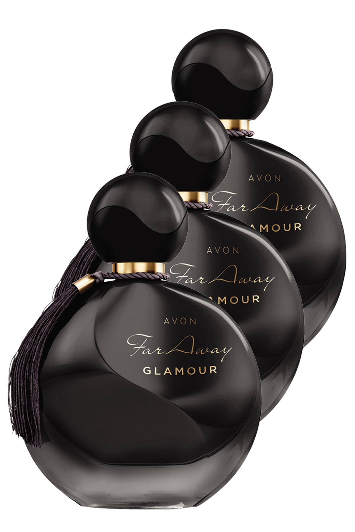 Avon Far Away Glamour Kadın Parfüm Edp 50 ml 3'lü Set 5050000102421 0