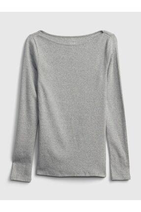GAP Modern Yuvarlak Yaka T-shirt 0