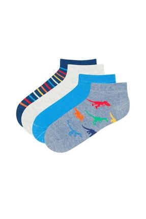 Penti Erkek Çocuk Patik Çorap  4'lü 0