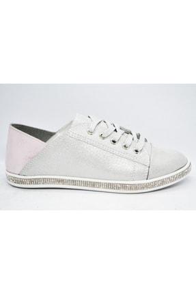 WARHOL SHOES Kadın Gümüş Spor Ayakkabı 0