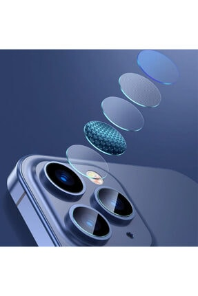 Baseus Iphone 12 Pro 6.1-pro Max 6.7 Uyumlu  Tempered Kamera Lens Koruma Camı 3