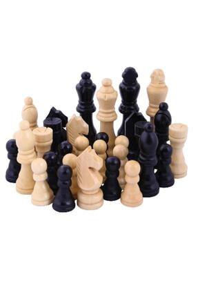 Star Oyun Satranç Taşları - Ahşap - 30288 / 0