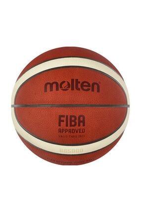 Molten B6g5000 Fıba Onaylı Deri No 6 Basketbol Maç Topu 0