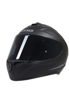 Axxis Kask Draken Matt Black Motosiklet Kaskı 1