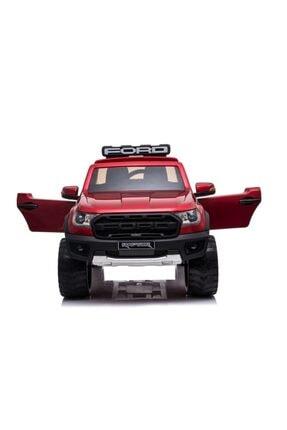Ford Lisanslı Ranger Raptor Tablet Ekranlı 24v Çift Akülü Araba 4 Motorlu Gerçek 4x4 Akülü Pikap Jip 1