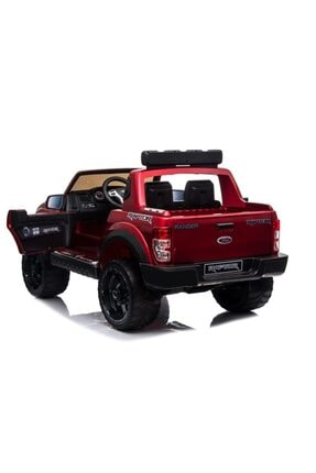 Ford Lisanslı Ranger Raptor Tablet Ekranlı 24v Çift Akülü Araba 4 Motorlu Gerçek 4x4 Akülü Pikap Jip 2